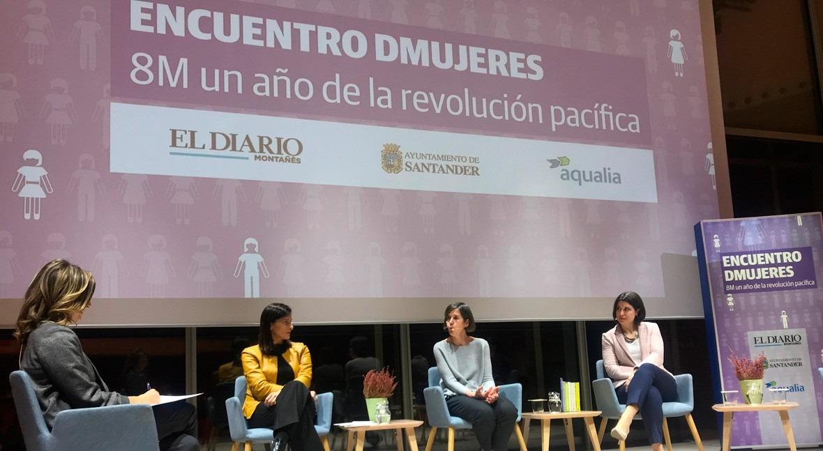 Aqualia reivindica #EmpleoParaTodas Diálogos Igualdad