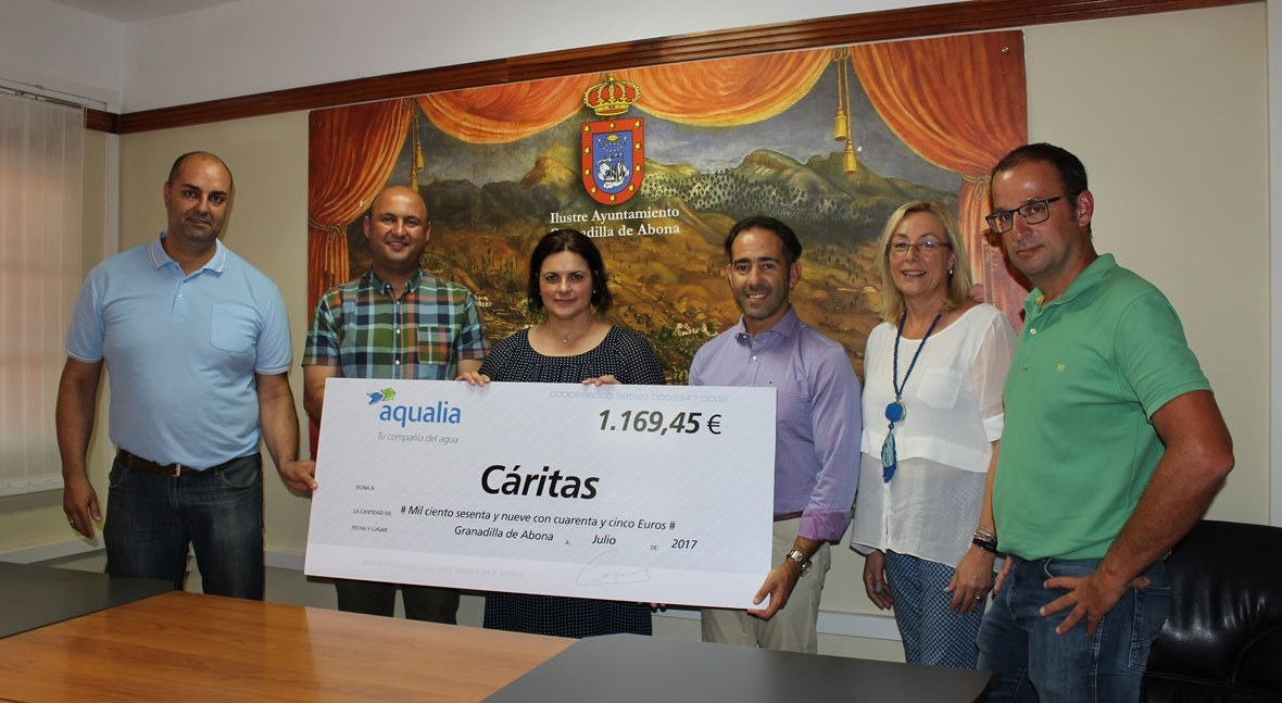 Aqualia apoya Casa Acogida San Antonio Padua, Granadilla Abona