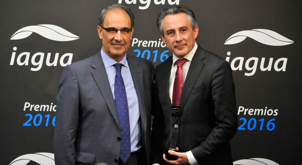 Aqualia, primer ganador nueva categoría Mejor Contrato Premios iAgua 2016