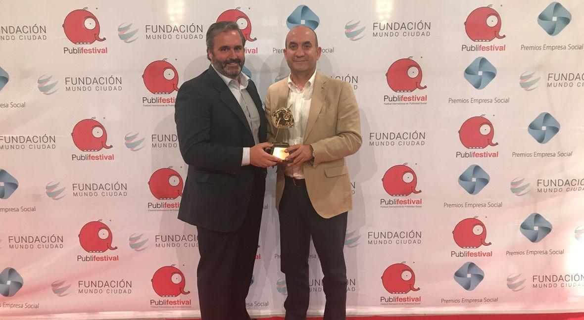 campaña agua grifo Bilbao, premio mejor acción marketing responsable