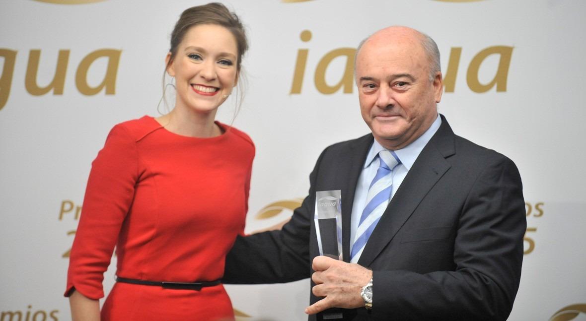 Manuel Navarro Acciona Agua ganó premio Mejor Entrevista Magazine Premios iAgua