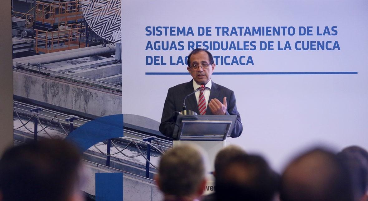""""""" mecanismo APP Perú ha logrado importantes avances sector saneamiento"""""""