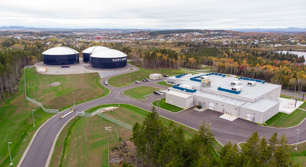 ACCIONA inaugura ETAP St. John Canadá