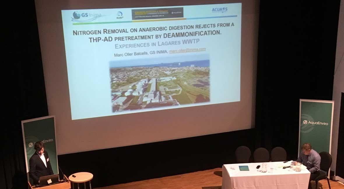 GS INIMA participa European Biosolids & Organic Resources Conferences Leeds