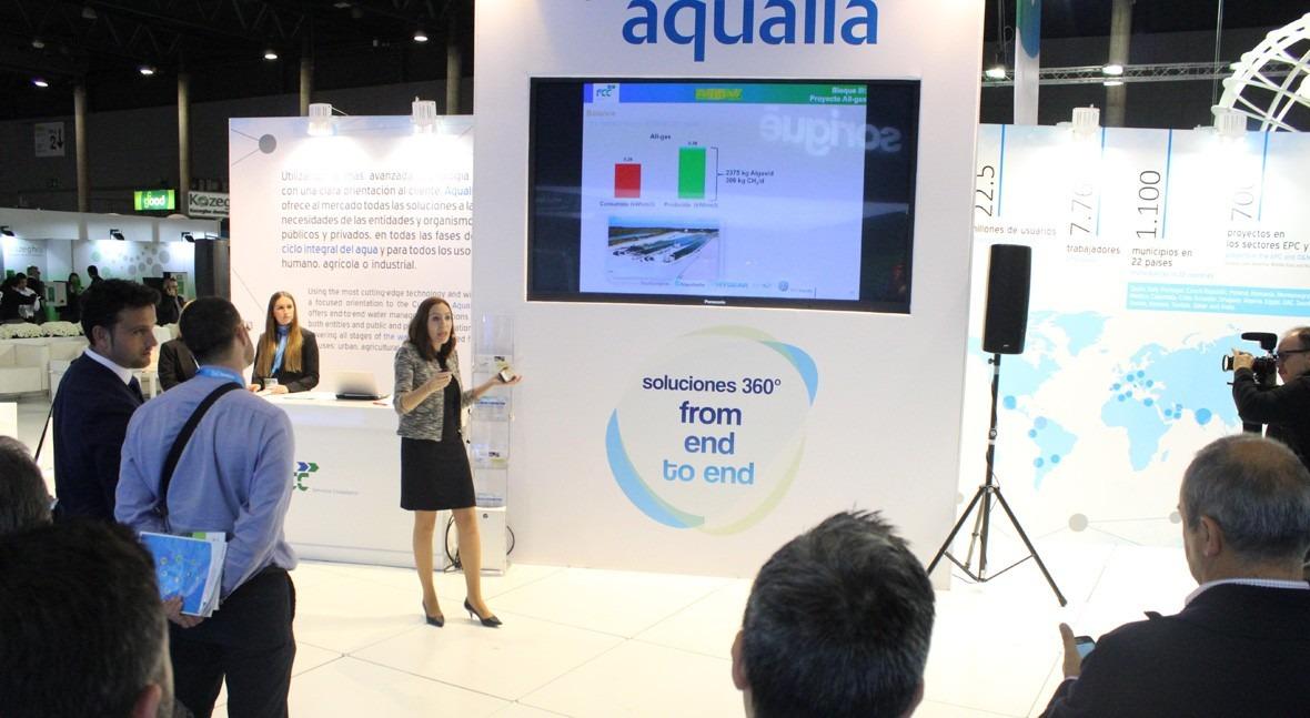 Aqualia expone Iwater tres exitosos casos colaboración público-privada