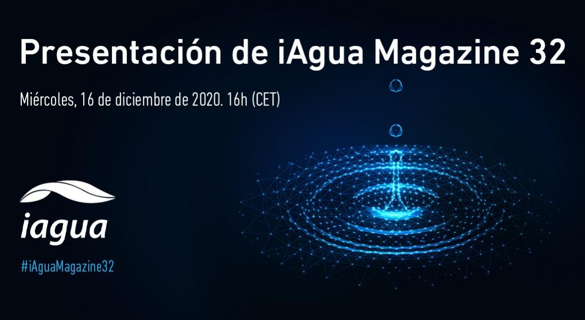 Presentación iAgua Magazine 32