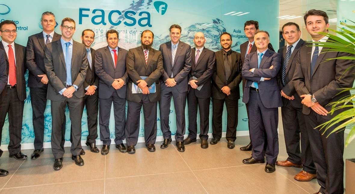 gobierno Arabia Saudí se interesa modelo gestión FACSA