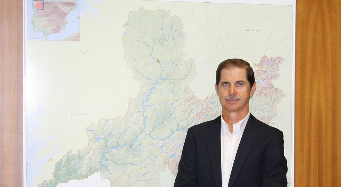 Franciso Marín, presidente de la Confederación Hidrográfica del Miño Sil