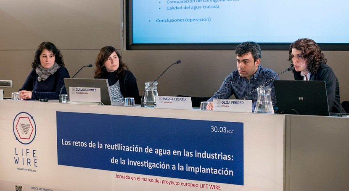 reutilización agua industrias: investigación implantación