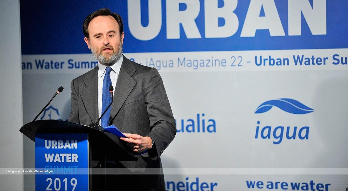 Financiación, riesgos y garantías, ejes principales ponencia Almar Urban Water Summit