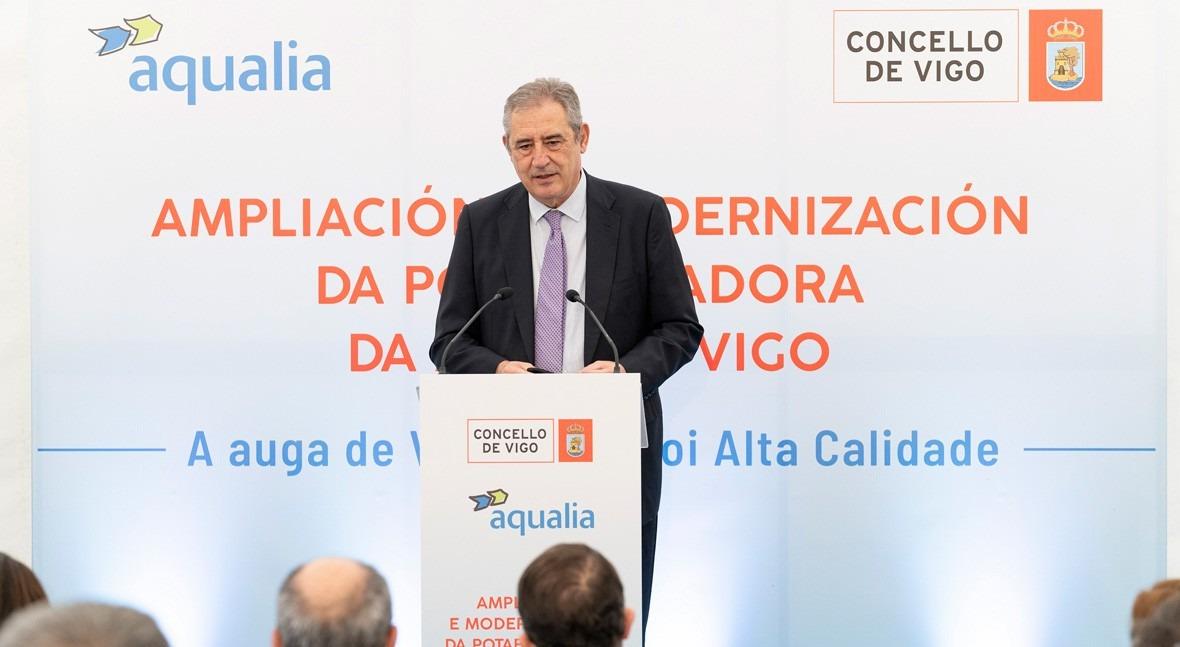 nueva Estación Potabilizadora Agua Vigo será pionera uso tecnología empleada