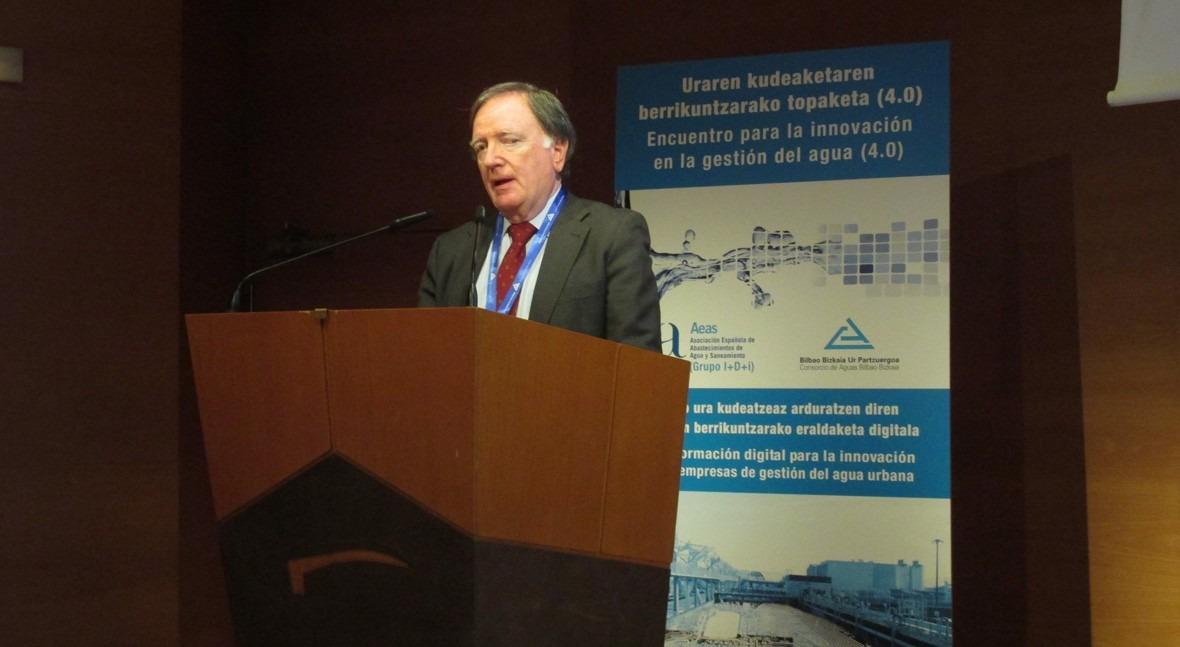 F. Morcillo destaca tecnificación y apuesta innovación servicios agua urbana