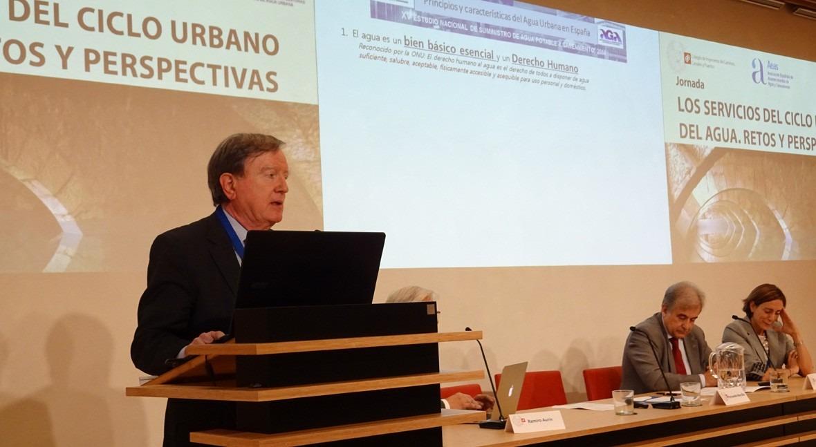 Fernando Morcillo traza radiografía estado servicios agua urbana España