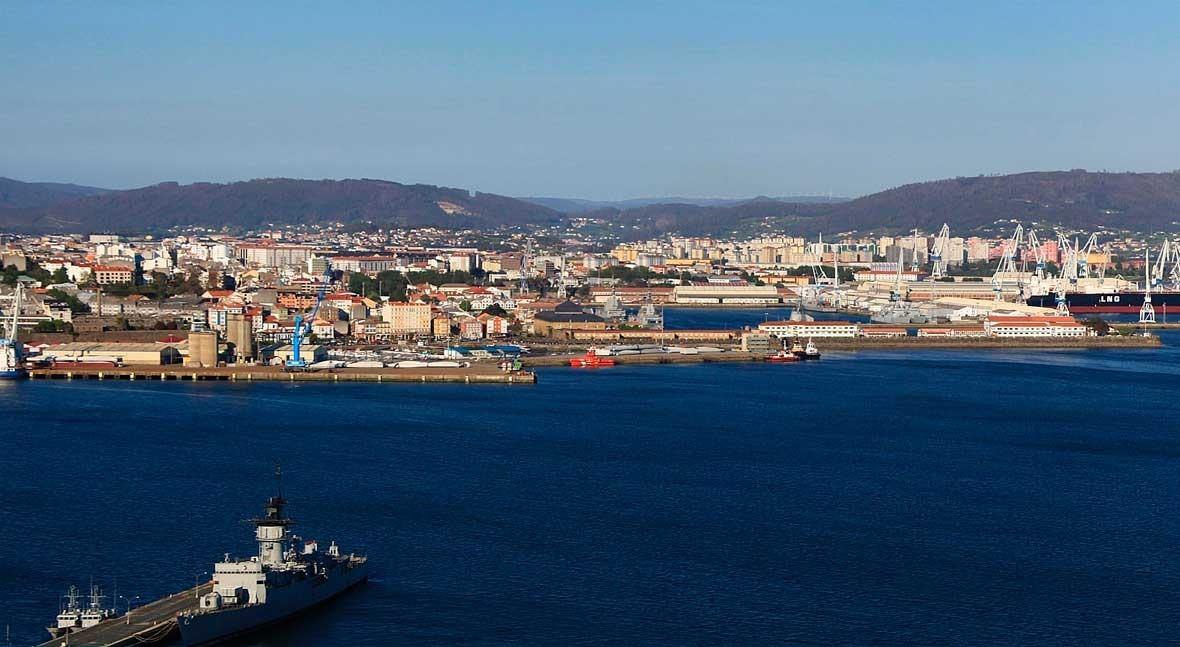 ACCIONA Infraestructuras logra contrato red saneamiento puerto interior Ferrol