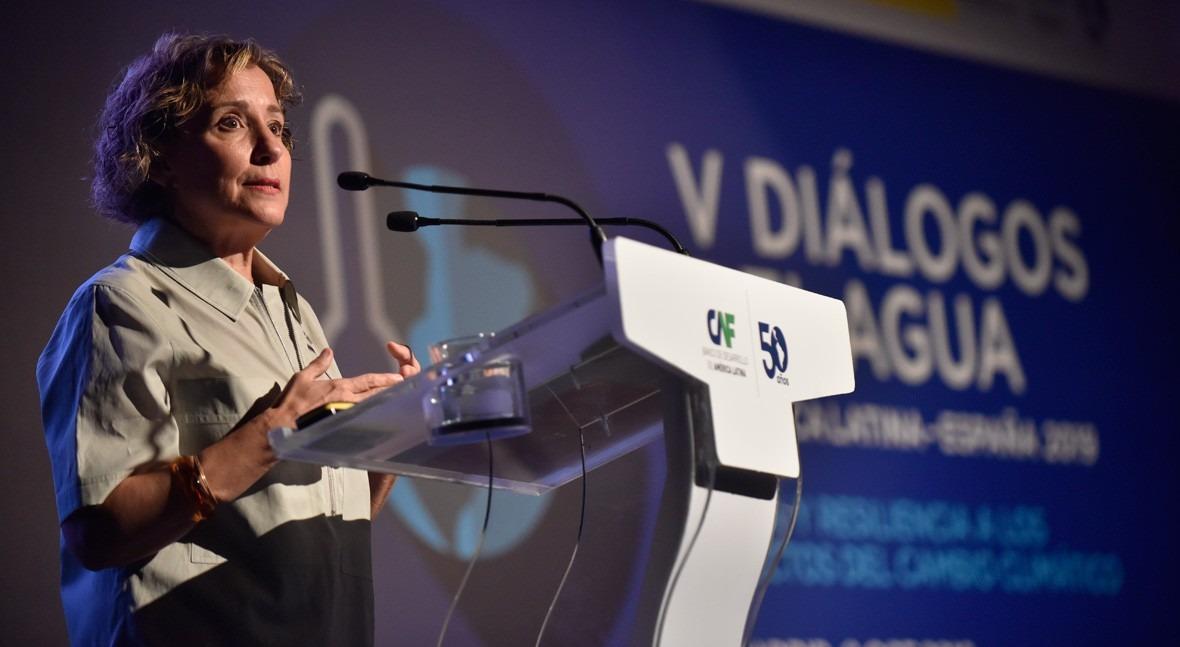 Aina Calvo, directora de AECID
