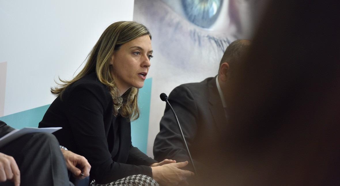 Gema Siles, jefa del departamento de Planificación y Gestión TI de Red Eléctrica de España