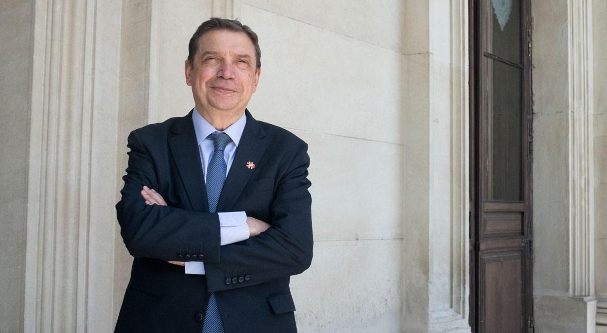Luis Planas, Ministro de Agricultura, Pesca y Alimentación de España (Foto: Pablo González-Cebrián/iAgua)