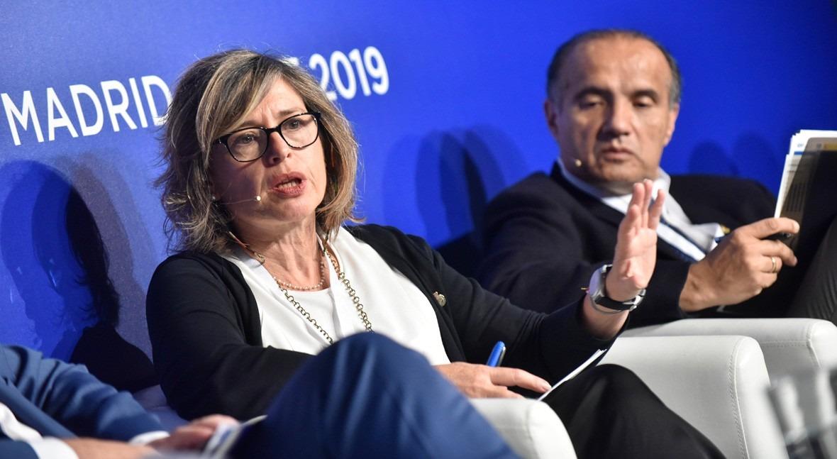 María Dolores Pascual, presidenta de la Confederación Hidrográfica del Ebro