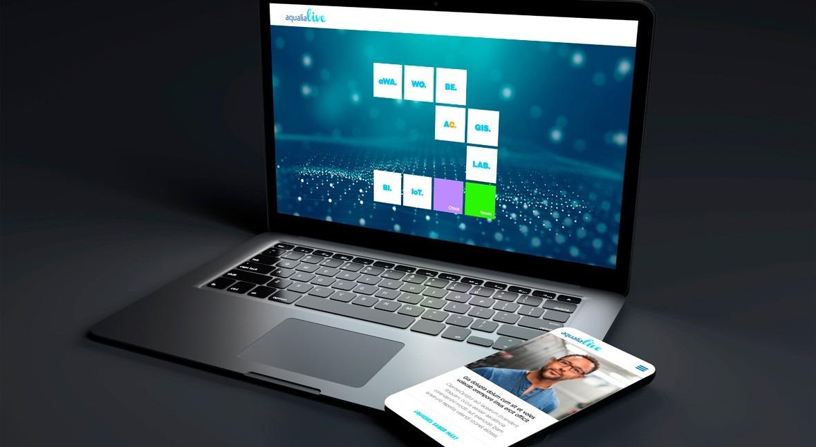 Aqualia Live es la plataforma modular e integrada en torno a la que se concentran todos los servicios digitales que la compañía presta