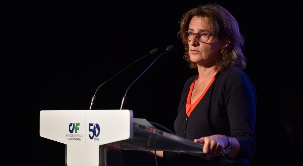 Teresa Ribera, ministra para la Transición Ecológica de España