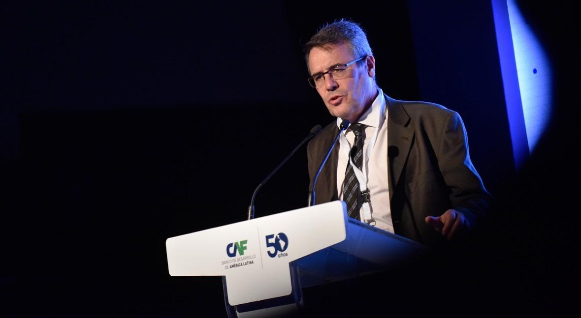Víctor Arqued, subdirector general de Planificación y Uso Sostenible del Agua del MITECO