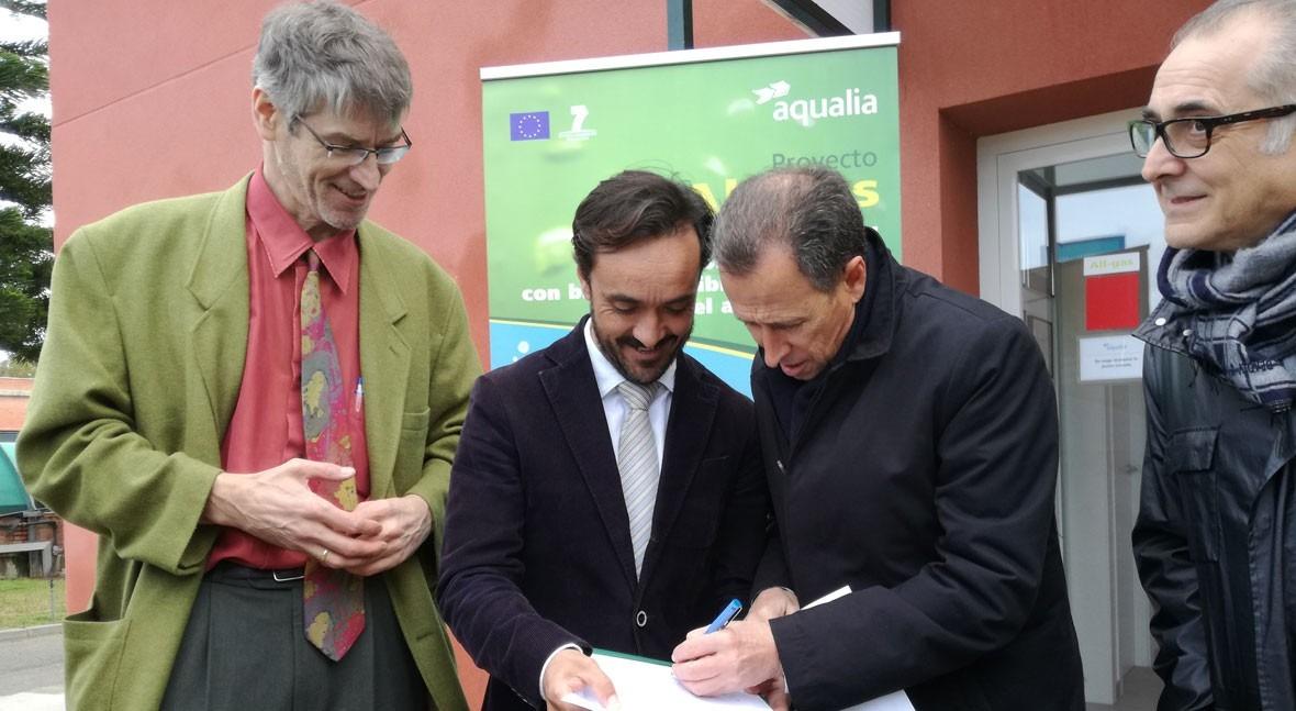 Proyecto All-gas: Comienza cultivo microalgas escala real Andalucía