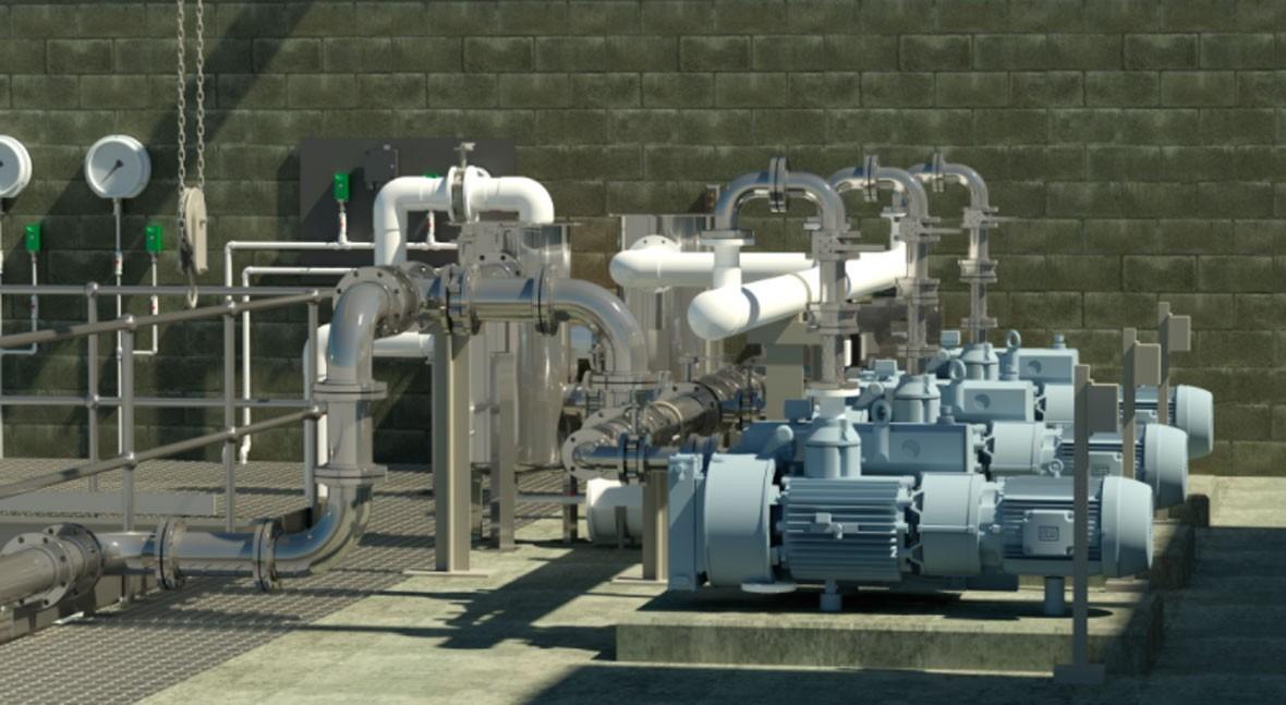 Actualización bombas vacío sistema Flovac