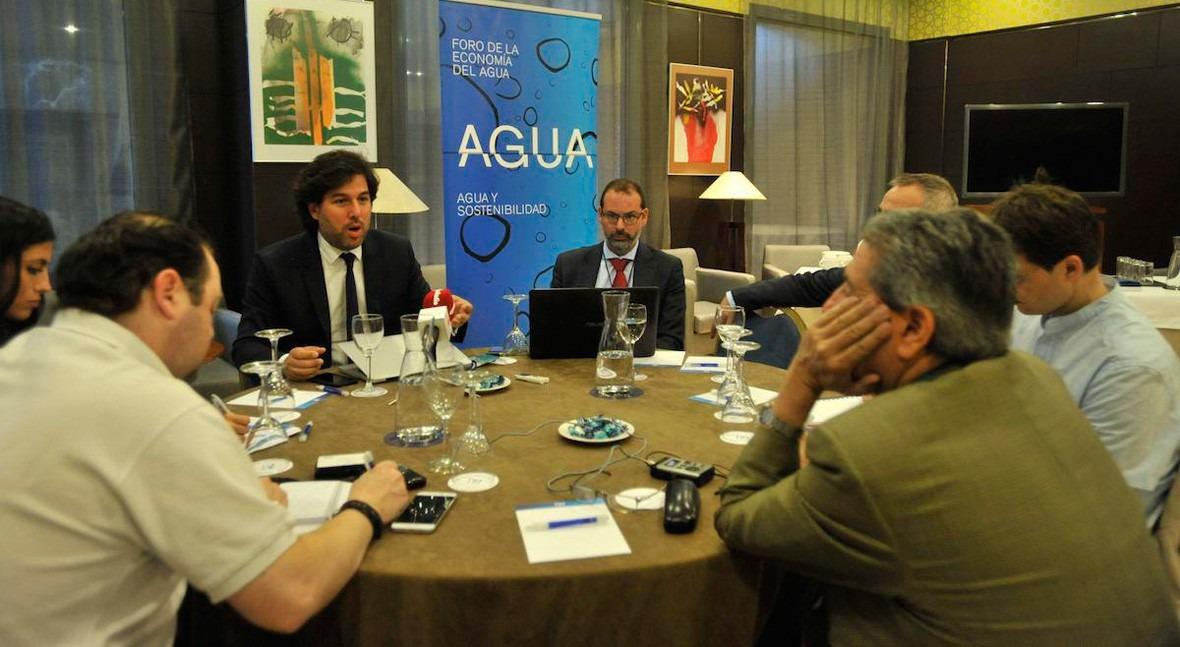 Foro Economía Agua alerta verdadero problema agua Valladolid