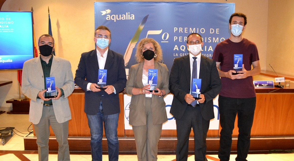 reportaje COVID-19 aguas residuales, ganador 5º Premio Periodismo Aqualia