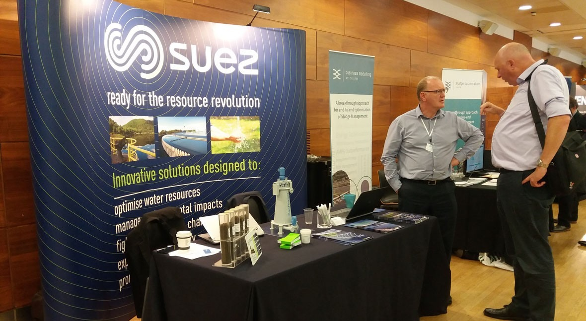 SUEZ apuesta tratamiento lodos más eficiente conferencia SludgeTech 2017