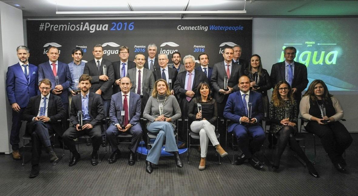 SUEZ Spain, galardonada premios iAgua 2016