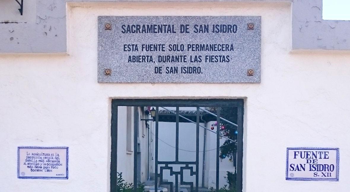 Historias Madrid (II): agua milagrosa San Isidro