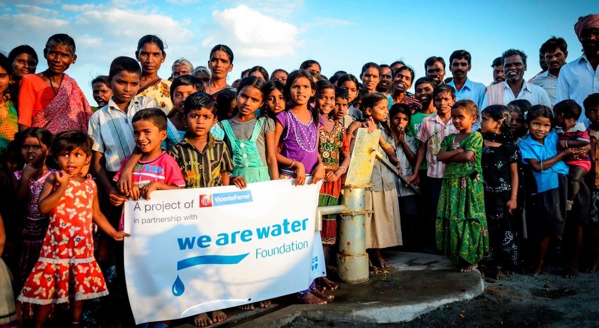 Fundación We Are Water inaugura primera oficina India