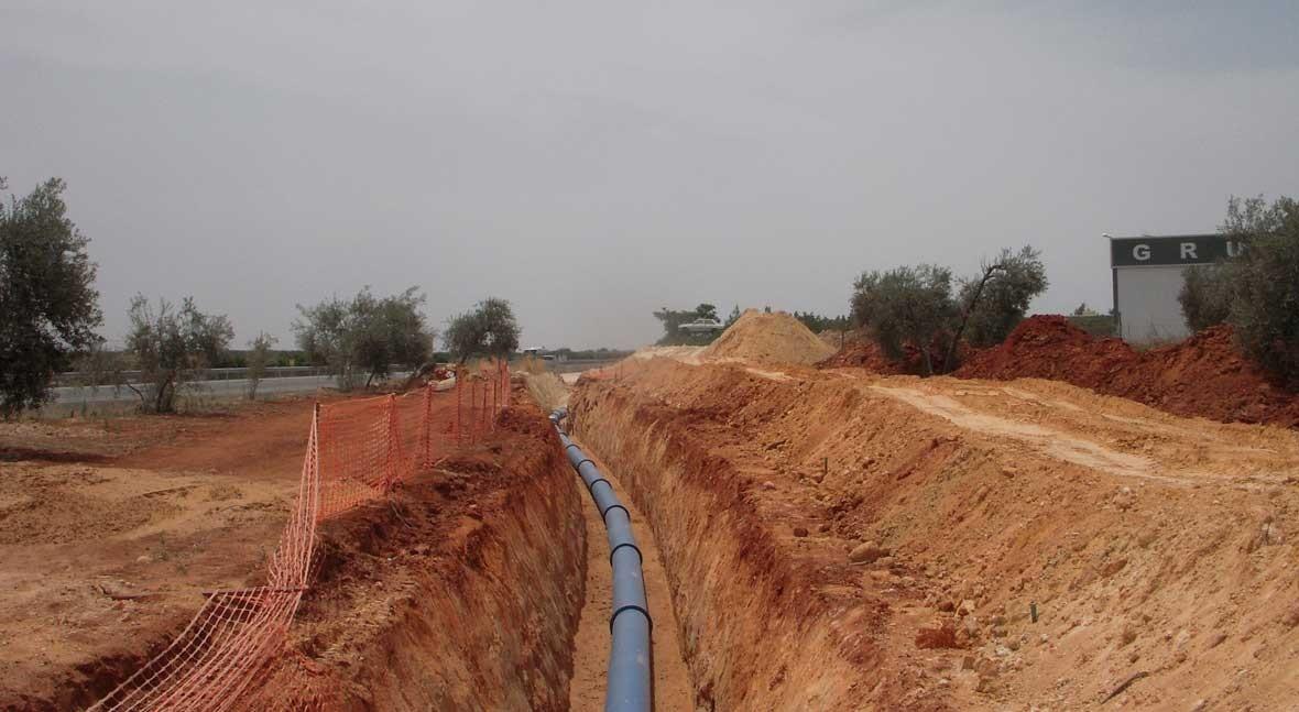 abastecimiento Plan Écija contará tubería gama PAM NATURAL Saint Gobain