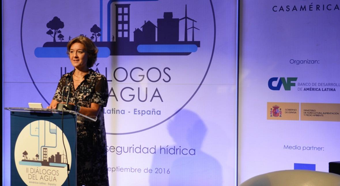 """García Tejerina: """" seguridad hídrica es cuestión estratégica"""""""