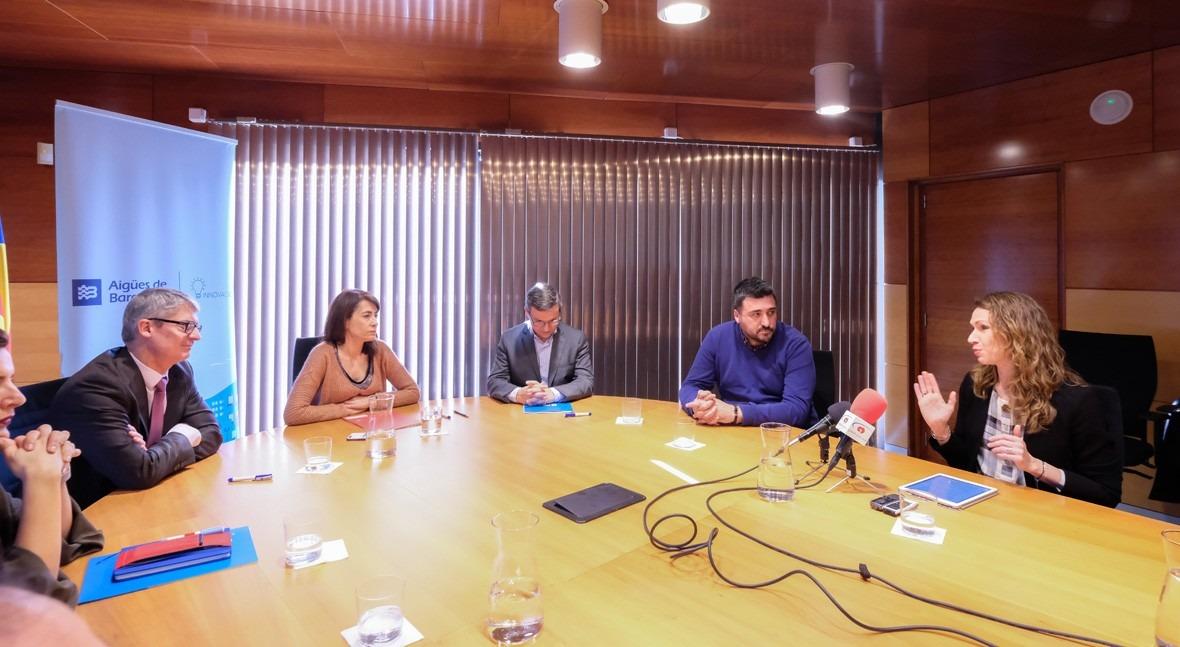 """AEAS participa acto adhesión Gavà ciudades """"water-wise"""" IWA"""