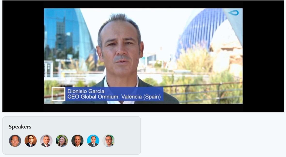 Global Omnium presenta SARS GOAnalytics principales empresas tecnológicas agua EE.UU.
