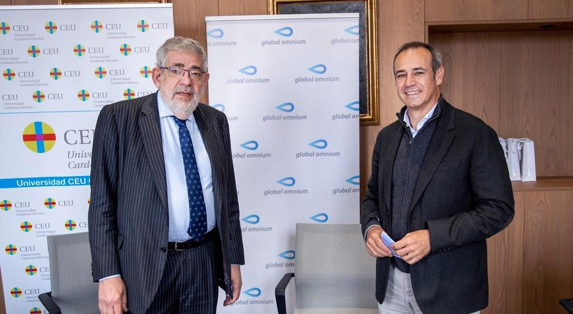 Global Omnium y CEU Cardenal Herrera colaborarán ámbito científico, cultural y educativo