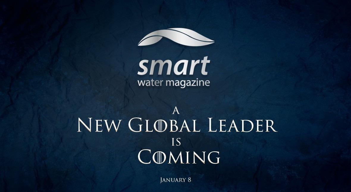 Smart Water Magazine: nuevo líder global llegará enero 2019
