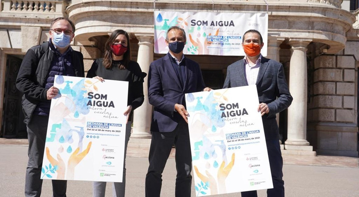 Valencia y Global Omnium impulsan actividades al aire libre celebrar Día Mundial Agua