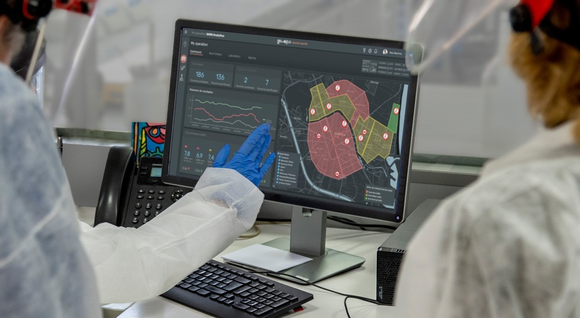Valencia se anticipa rebrotes coronavirus gracias GoAigua SARS Analytics