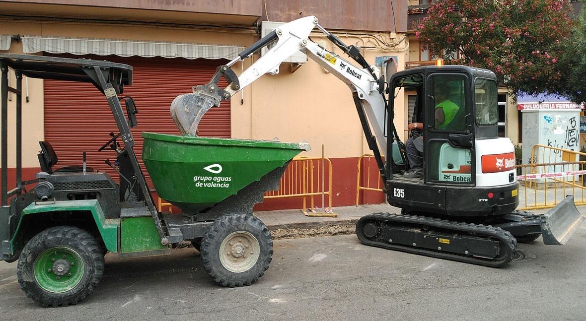 Ayuntamiento Godella y Aguas Valencia modernizan red hidraúlica municipio