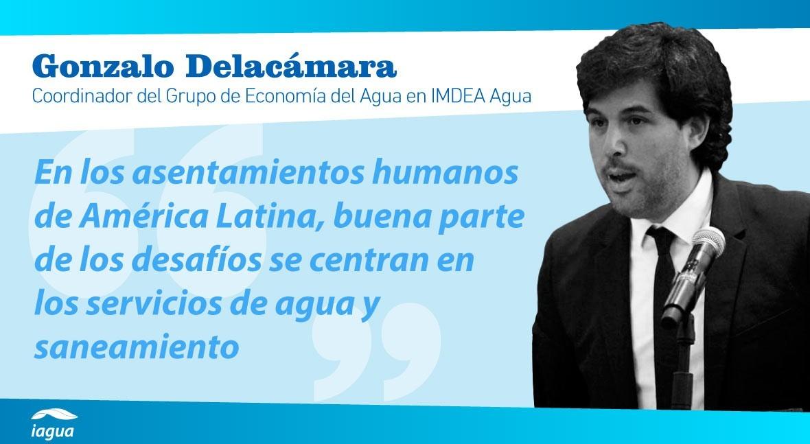 """Gonzalo Delacámara: """" agua es factor limitante algunos países Latinoamérica"""""""