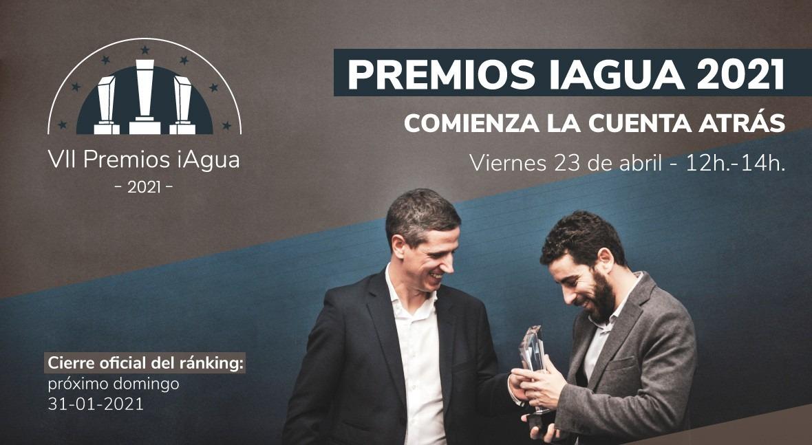 próximo 31 enero se cierra Ranking Premios iAgua 2021