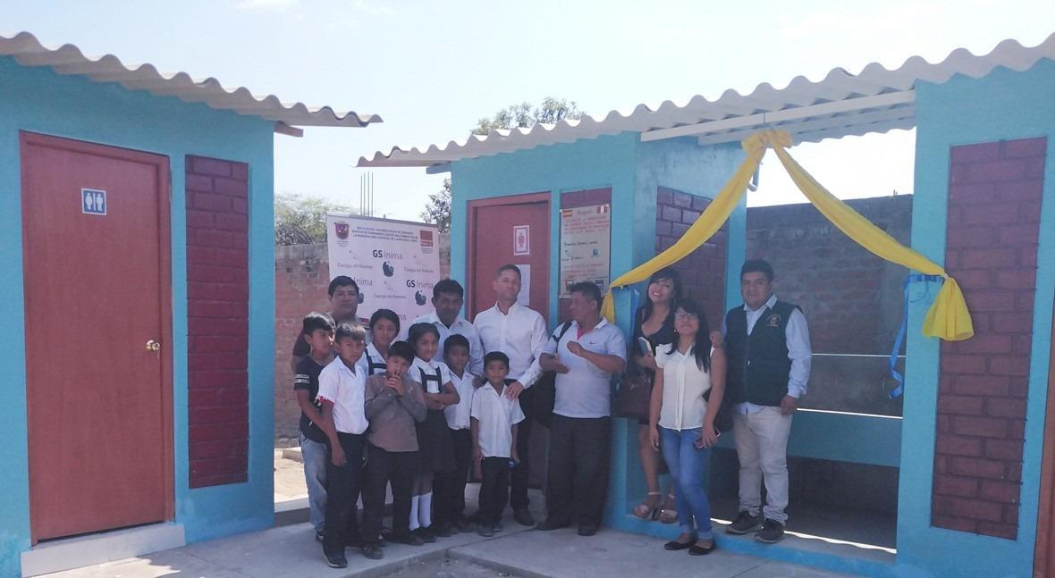 GS Inima inaugura proyecto social saneamiento Perú