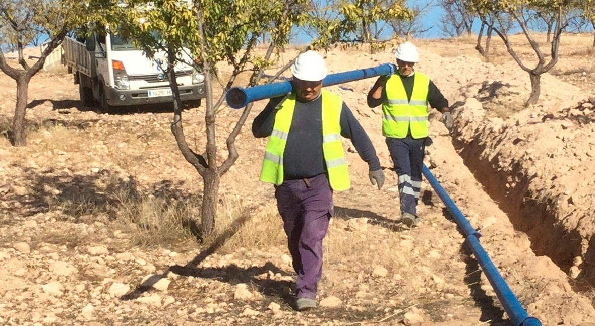 Saint-Gobain PAM España favorece abastecimiento agua potable Hernán Valle