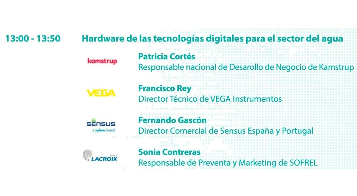 #SmartWaterSummit: Hardware tecnologías digitales sector agua