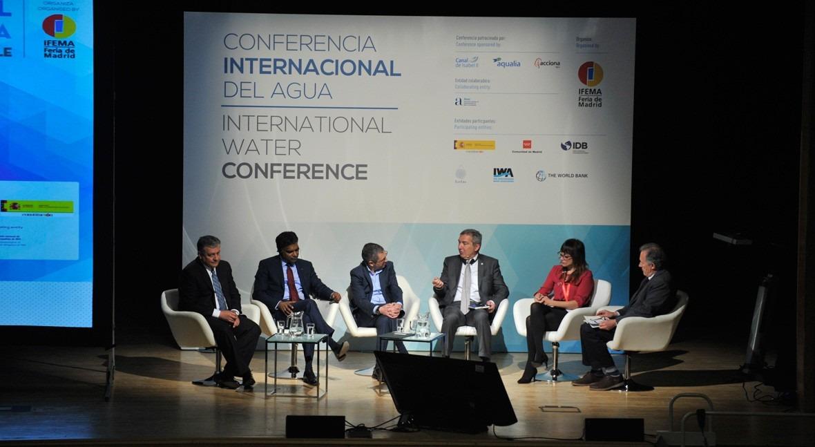 SIGA 2019 acogió I Conferencia Internacional Agua