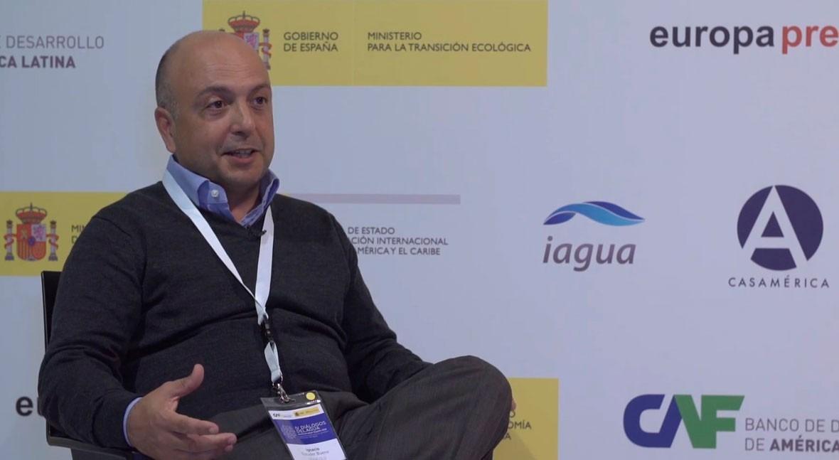 """Ignacio Escuder: """"Hay que generar conciencia conservación patrimonio hidráulico"""""""