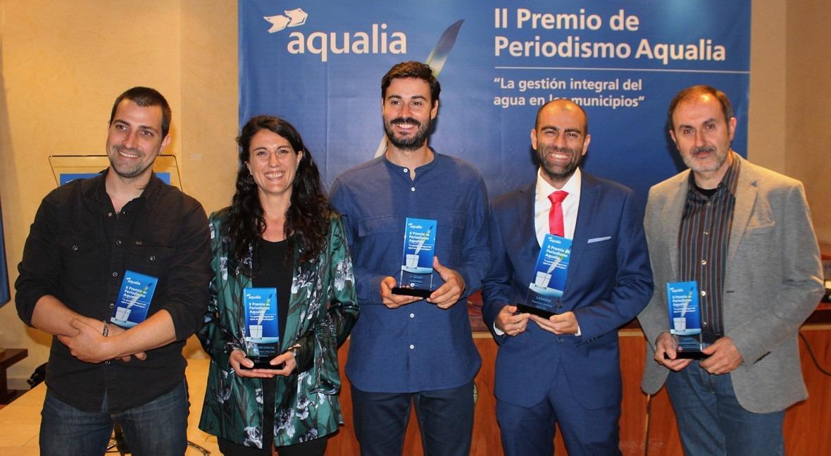 Francisco Jiménez, Diario Sur, ganador II Premio Periodismo Aqualia